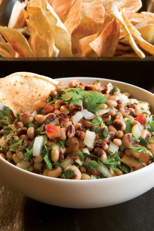 Black-Eyed Pea Salsa - The Cottage Journal