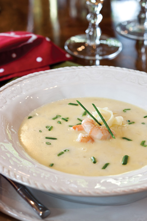 Image result for champagne shrimp bisque