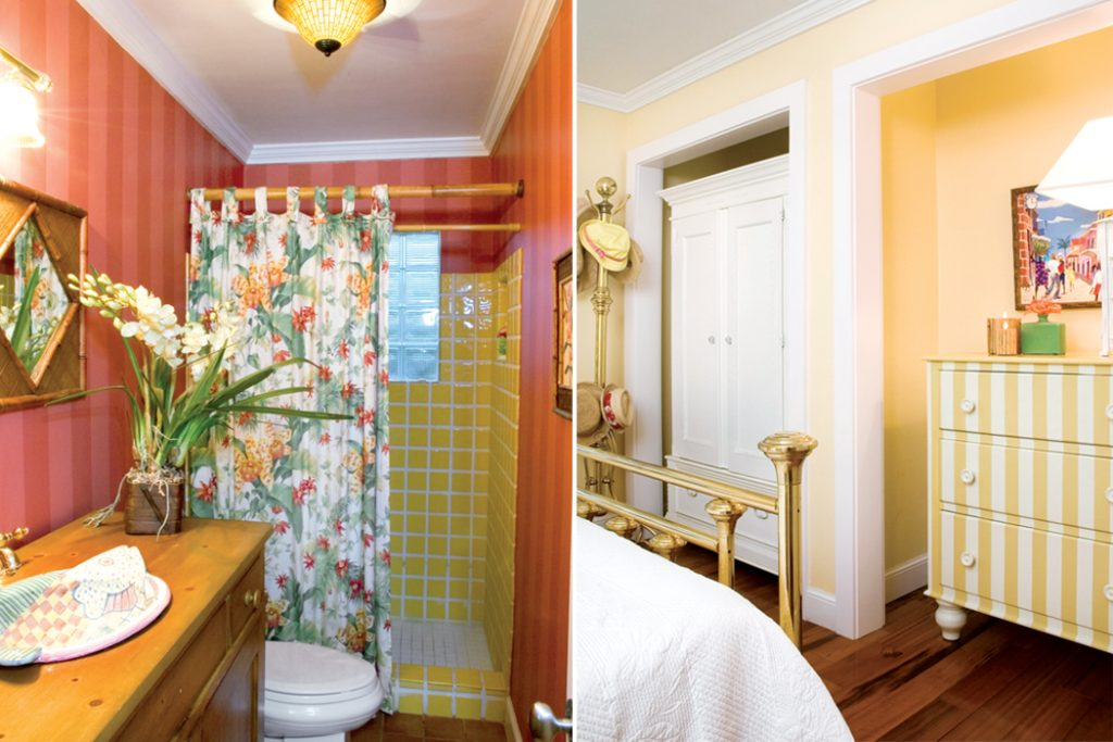 Inside, The Cottage Walls Burst With Tropical Colors That Echo In The  Vibrant Artwork, Painted Furniture, Botanical Fabrics, And Vases Of  Hibiscus.