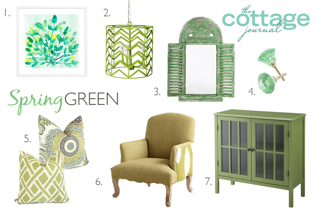 Spring Green Style Ideas The Cottage Journal