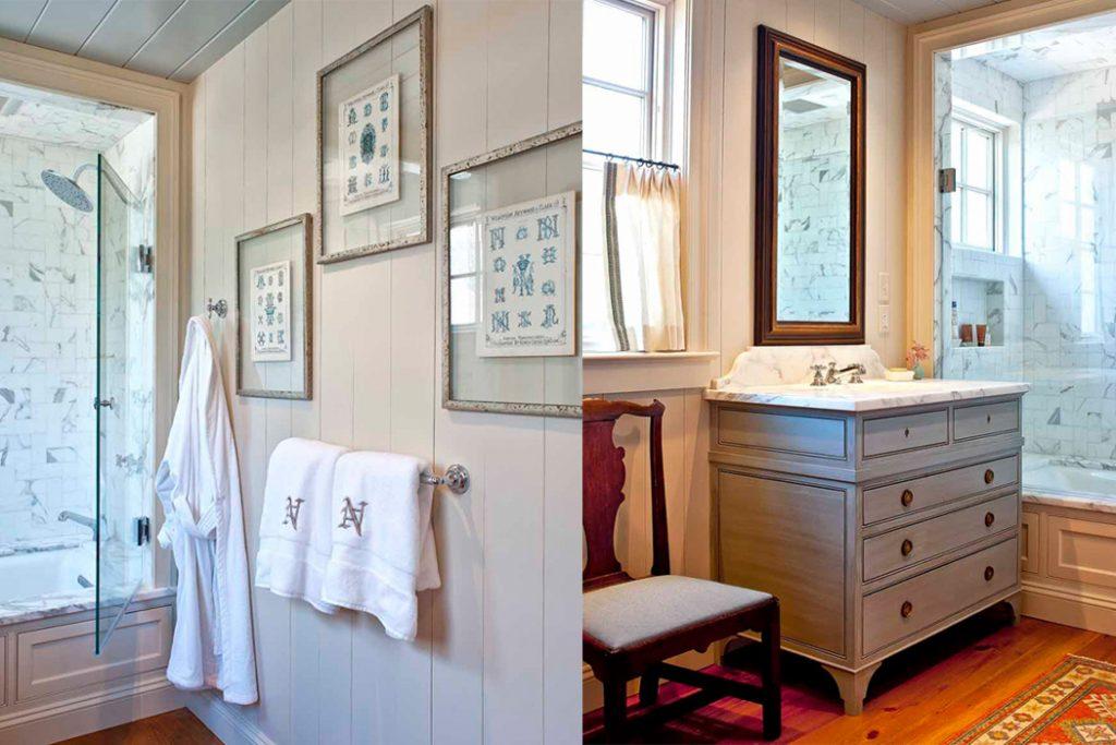 Charlottesville Cottage Bathroom detail