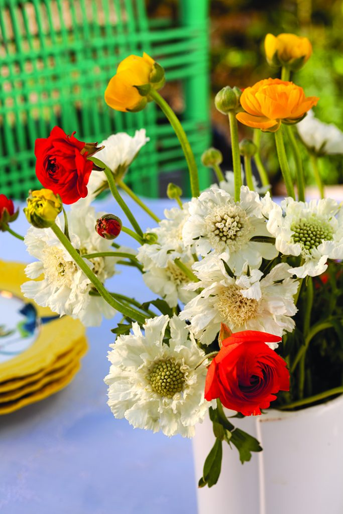 Cheerful Spring Table