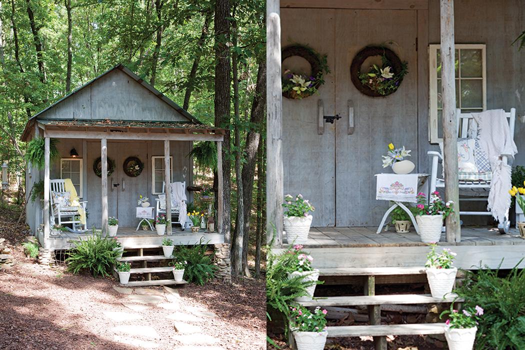 Garden Porch Styling1