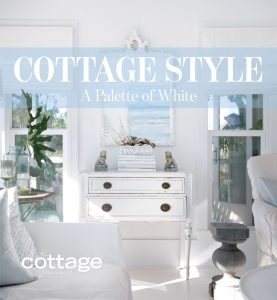 Cottage Style - Palette of White decor book cover