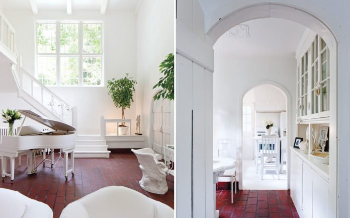 Tips for decorating with white - let white be bold