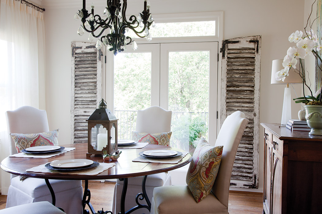 Decorating with Shutters - The Cottage Journal