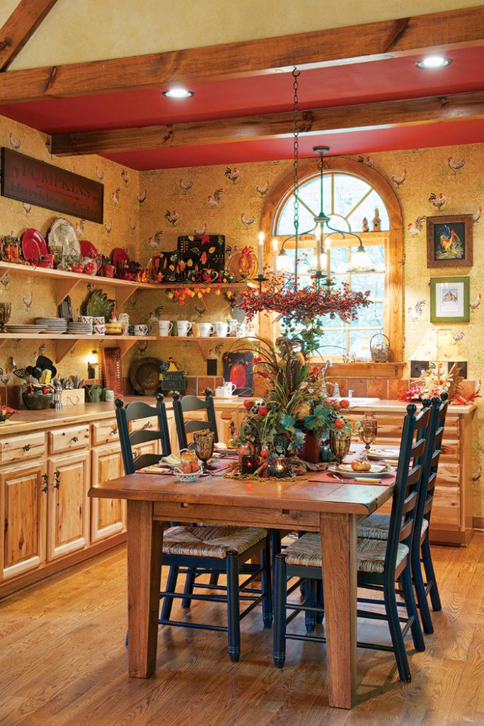 Carolina_Cabin_kitchen_table