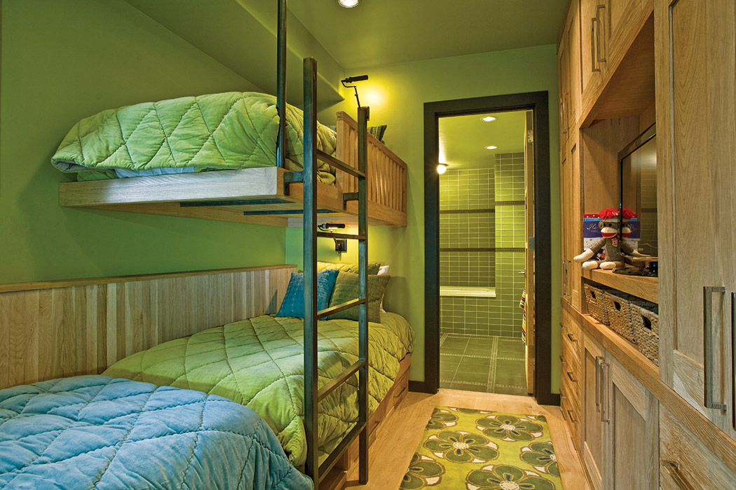 Utilizing your space with bunkbeds