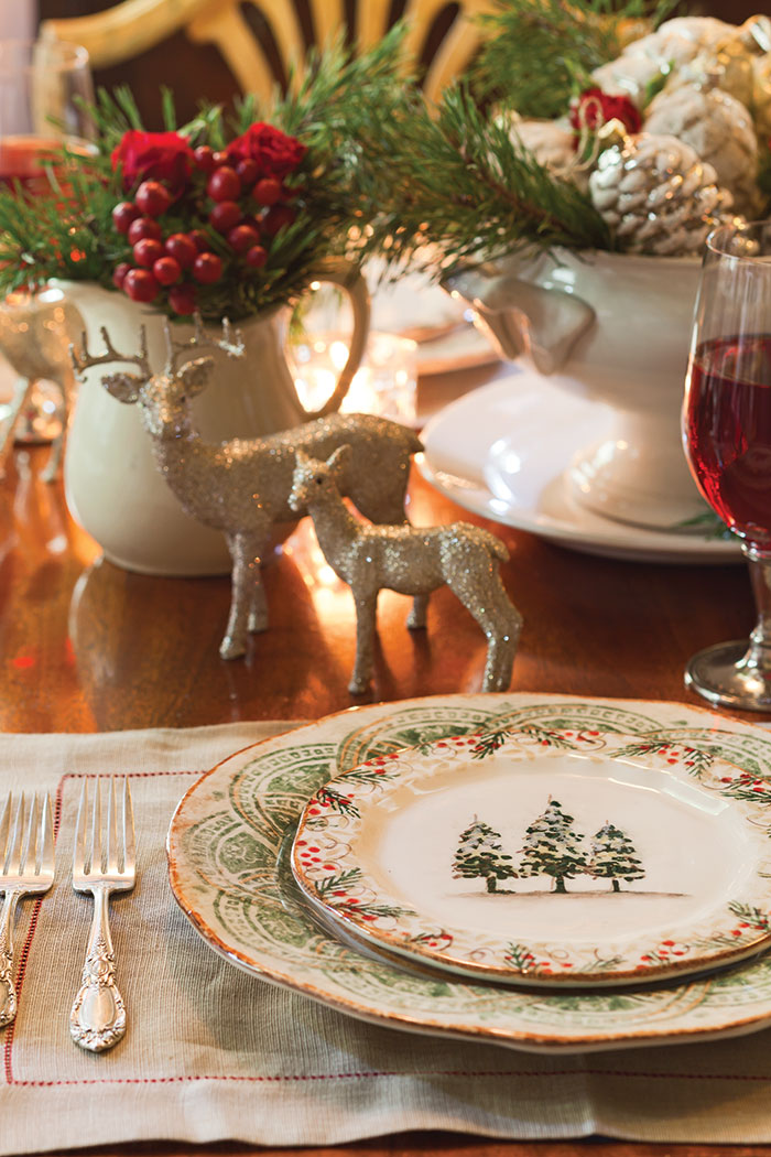 Elegant Christmas Tablescape Page 2 Of 4 The Cottage