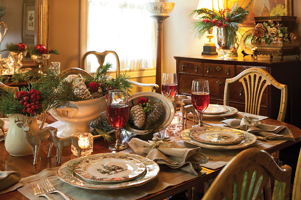 Elegant Christmas Tablescape Page 3 Of 4 The Cottage