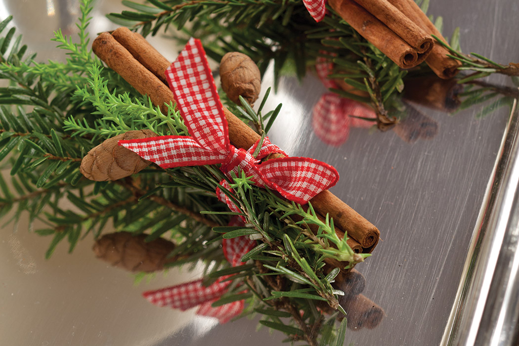 Cinnamon Stick with Ribbon Idea