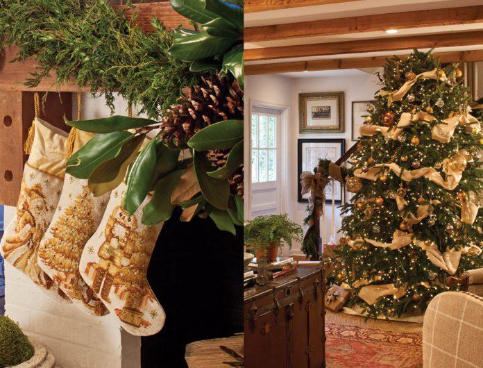 Fresh Tree and Stocking Style