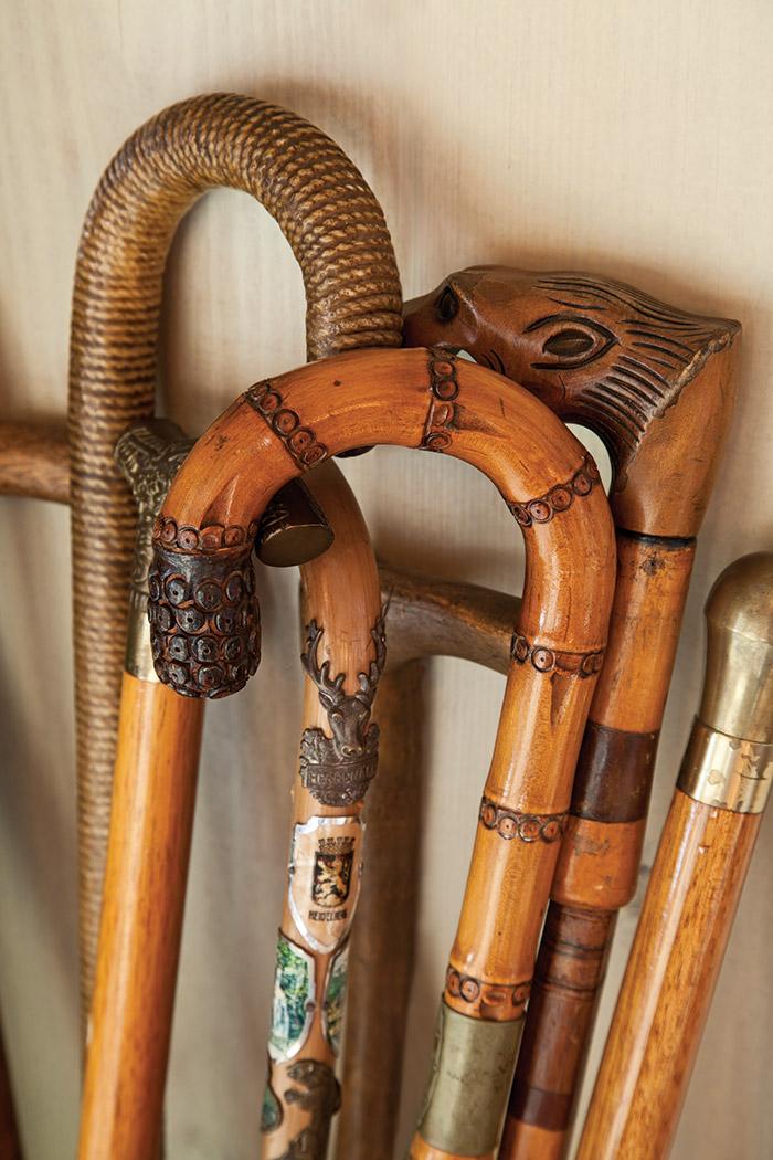Beautiful vintage cane handle