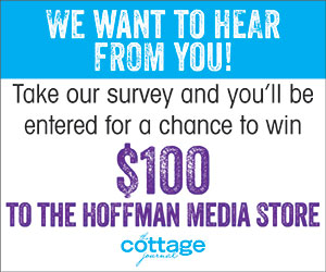 We want to hear from you! Take our survey and you'll be entered for a chance to win $100.