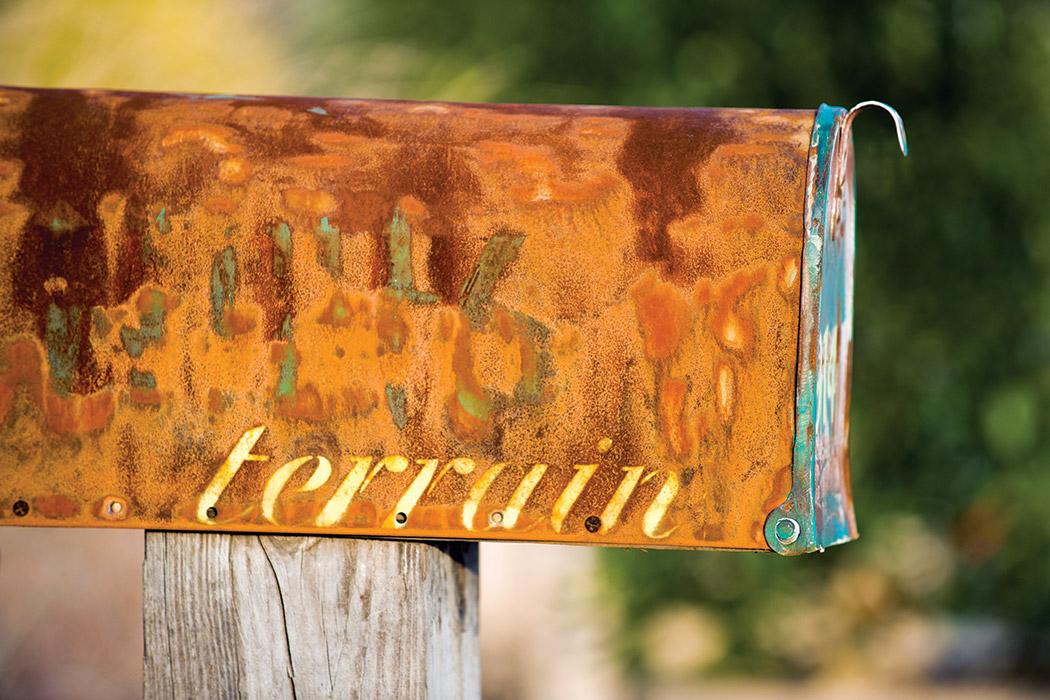 TERRAIN mailbox