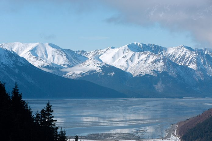 Beautiful Alaskan Mountain Range
