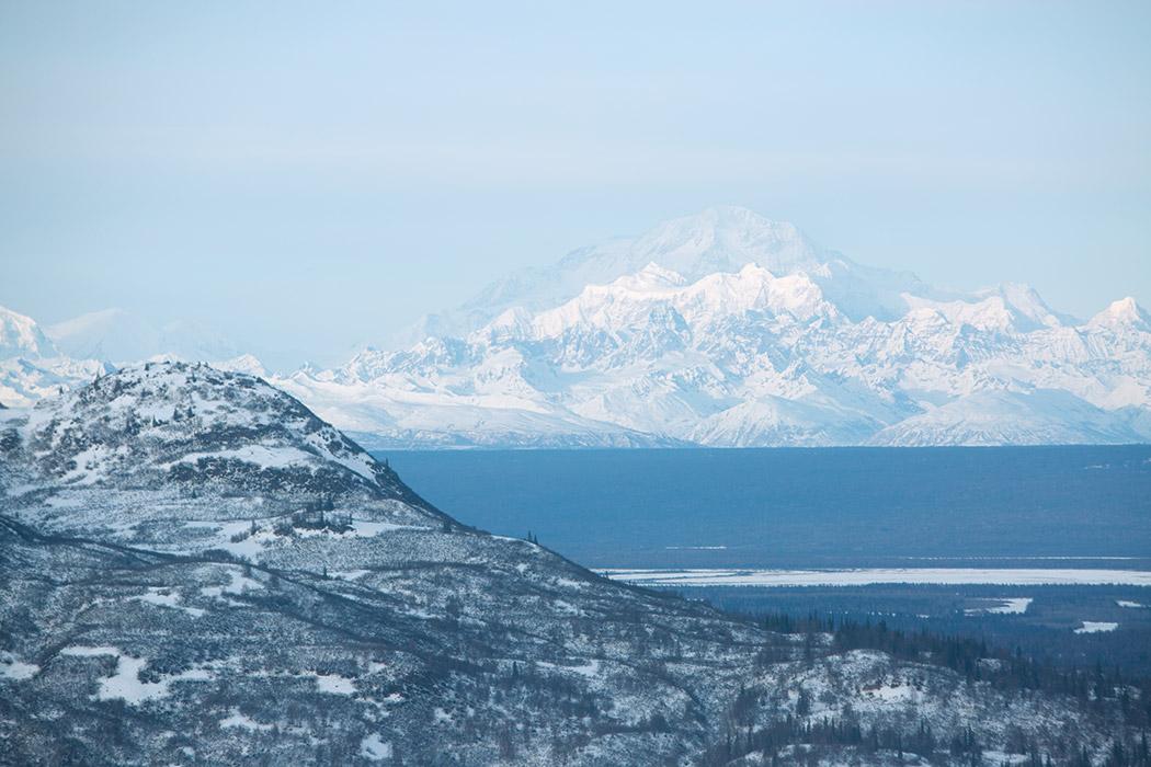 Beautiful Alaskan mountains