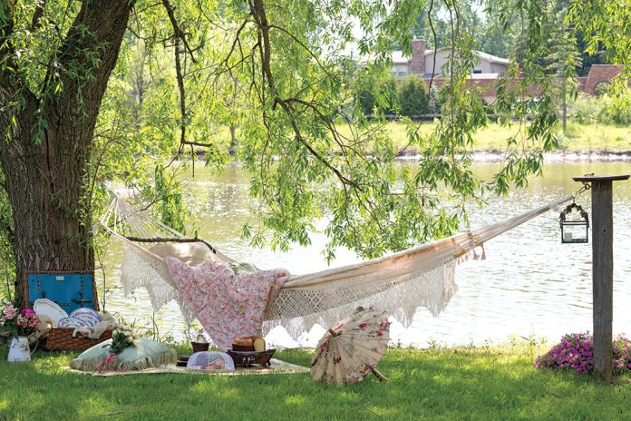 Lovely Hammock scene