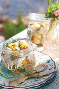 Spring Pasta Salad with Dill Vinaigrette