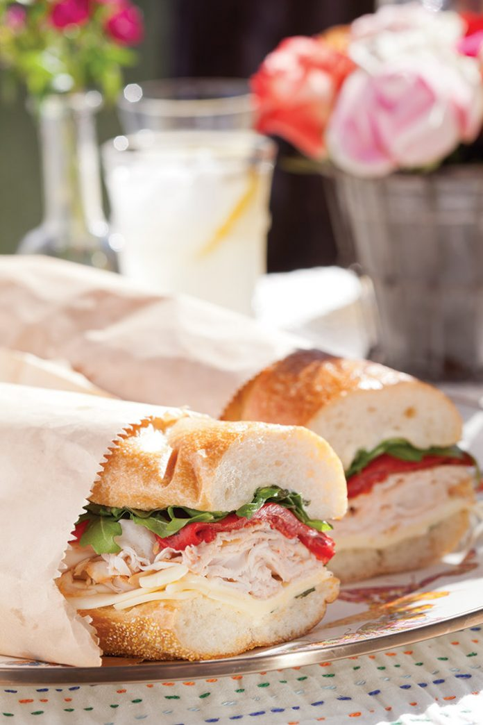 Smoked Turkey and Gouda Sub Sandwich
