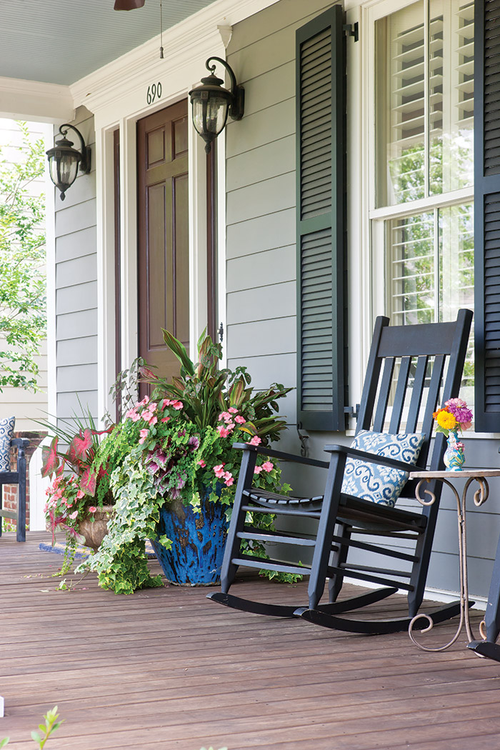 Rocking Chair Porch Detail