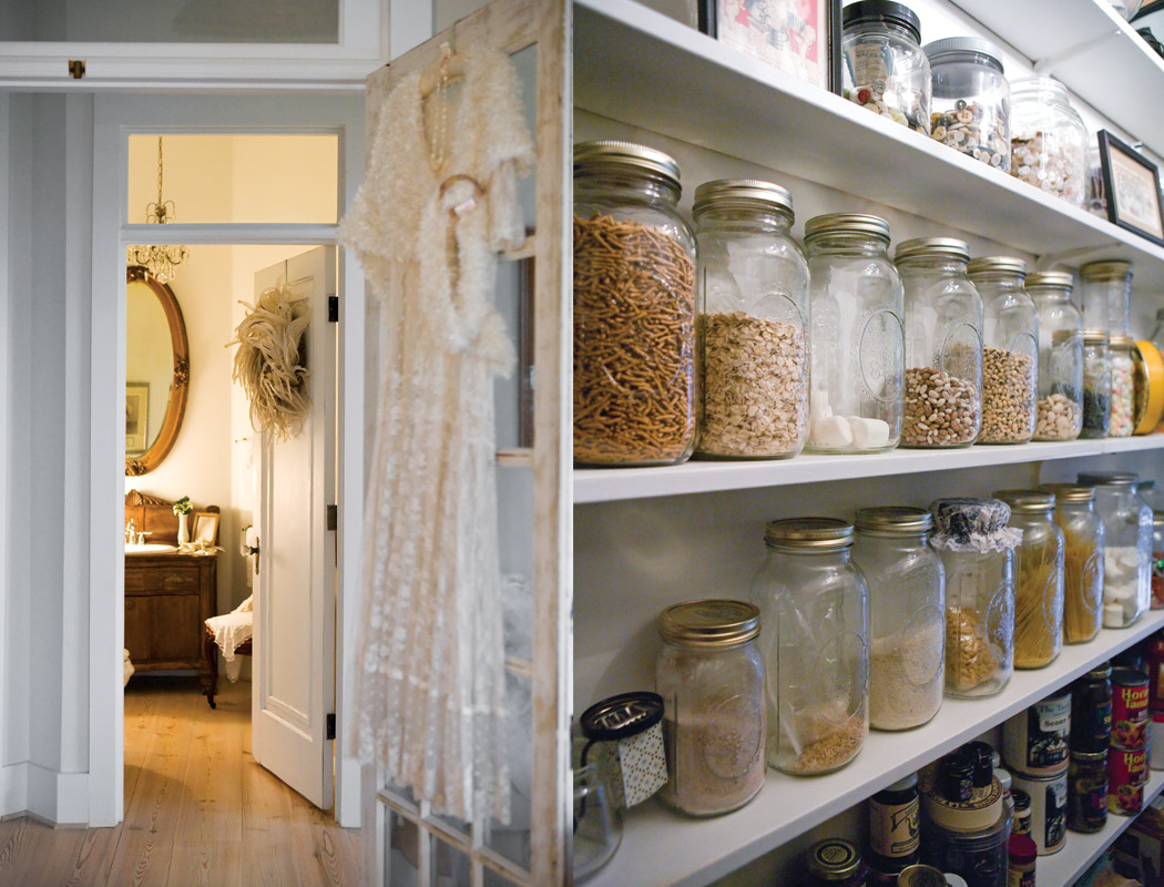 Antique-Lace-Gown-and-Pantry