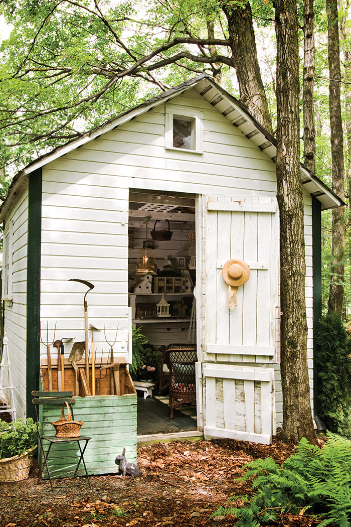 Potting Shed Front View