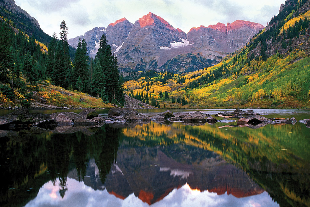 The Maroon Bells by Dan Bayer