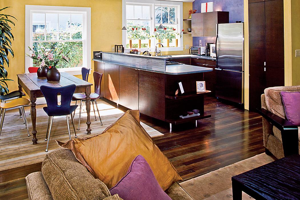 Palo Alto Cottage Living Room