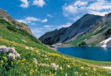 Aspen Mountainside Lake-Image by Dan Bayer