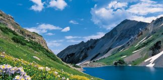 Aspen Mountainside Lake-Image by Dan Bayer