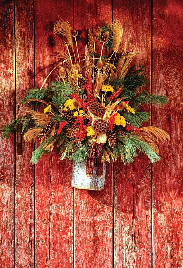Fall Door Decorations - The Cottage Journal