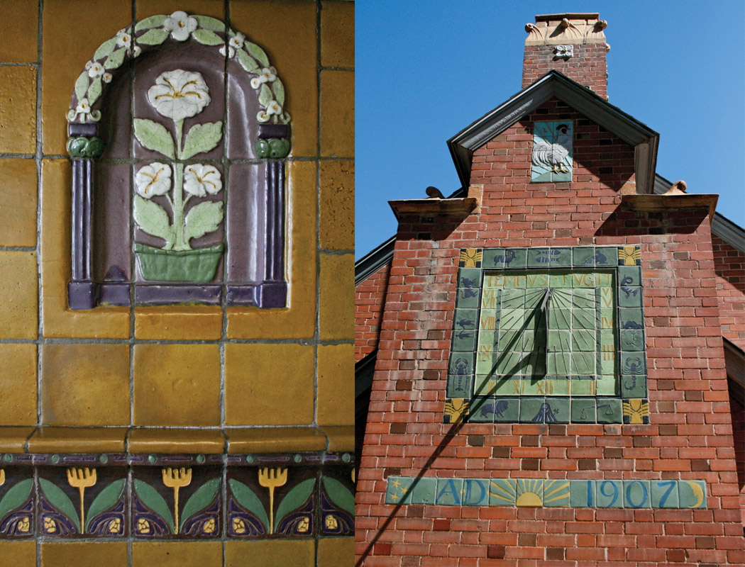 Van Briggle Building Tiles