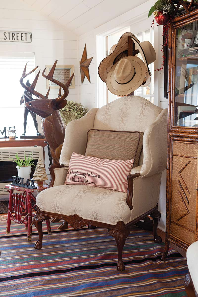 Texas Countryside Cottage - The Cottage Journal - Comfy Chair