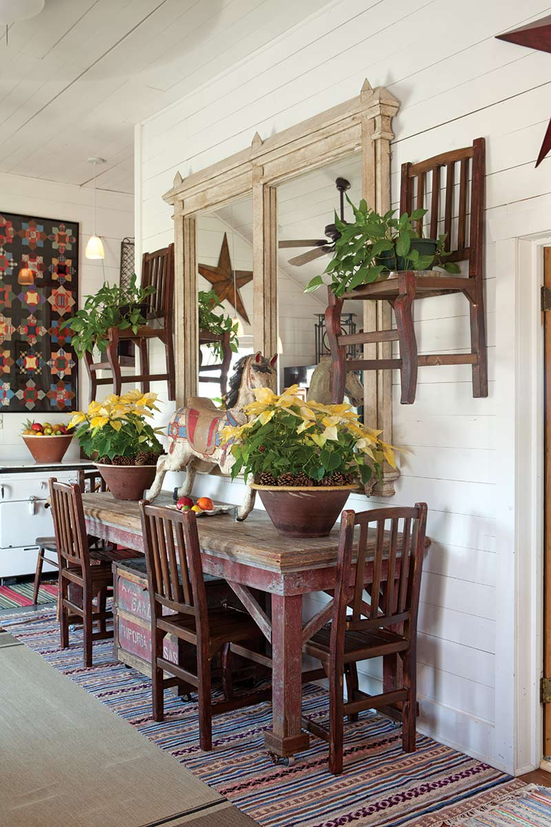 Texas Countryside Cottage - The Cottage Journal - Dining Room Table