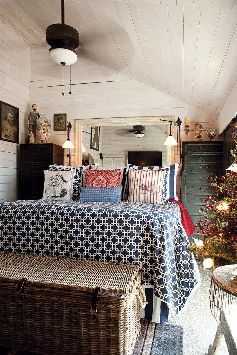 Texas Countryside Cottage - The Cottage Journal - Master Bedroom