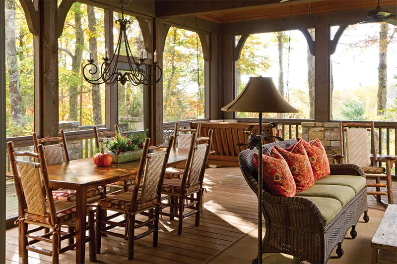 Mountain Dinning Set - The Cottage Journal