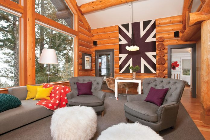 Contemporary Mountain Cabin - The Cottage Journal