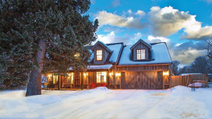 Reclaimed Rocky Mountain Cabin