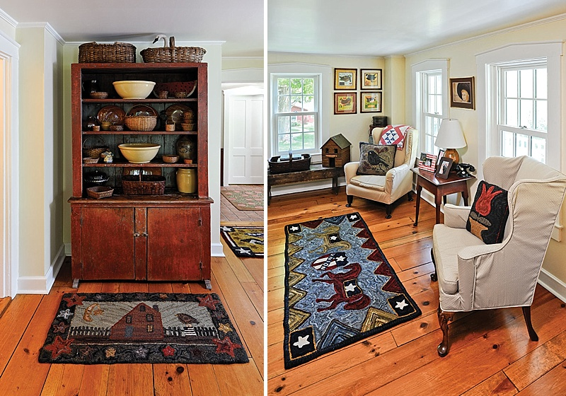 A Passion for Hand-Hooked Rugs