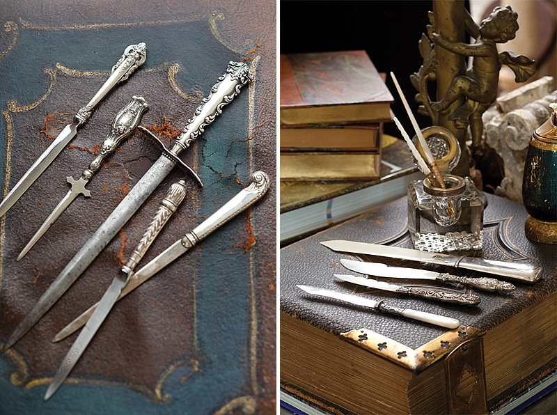 A Wonderful Collection Of Antique Letter Openers