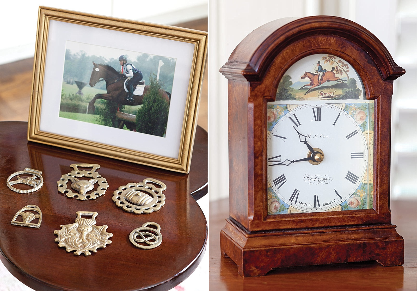 Charming Cottage of Equestrian Collectibles