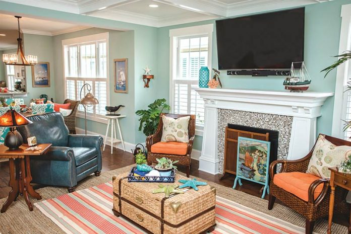 Colorful Craftsman-Style Cottage