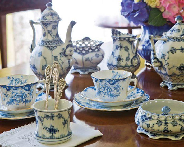 Blue-and-White China