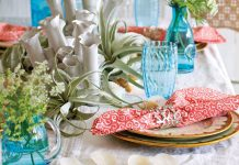 Coastal Dining Decor