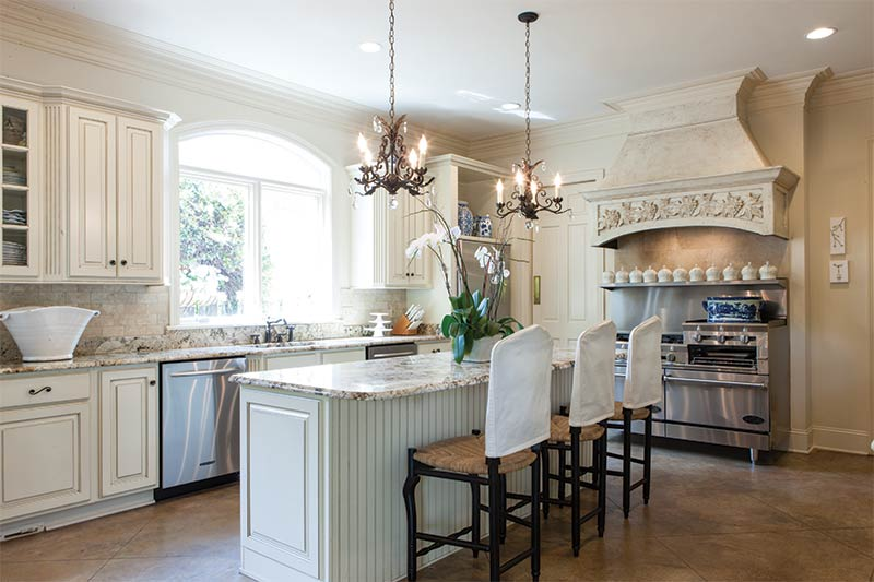 French style new orleans home the cottage journal for New orleans style kitchen