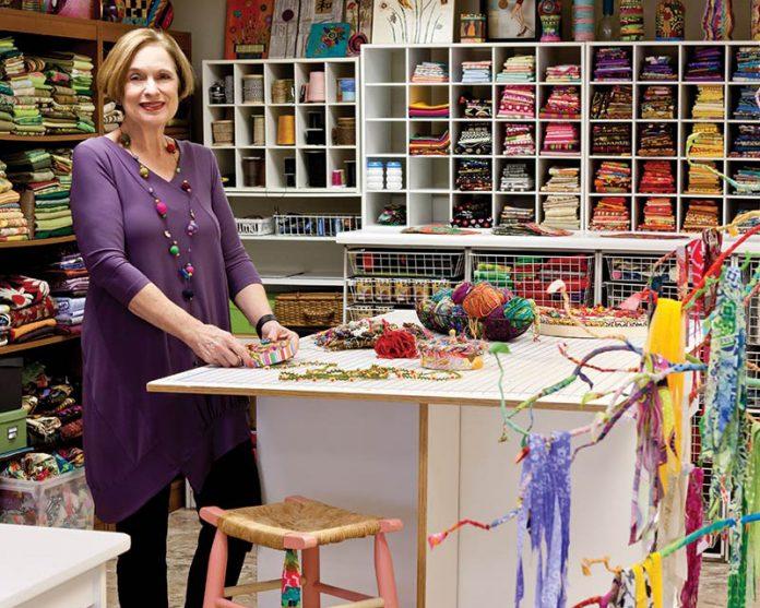 A Scrappy Textile Artist
