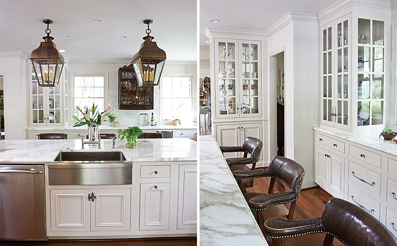 Elegant Antique Furnished Kitchen