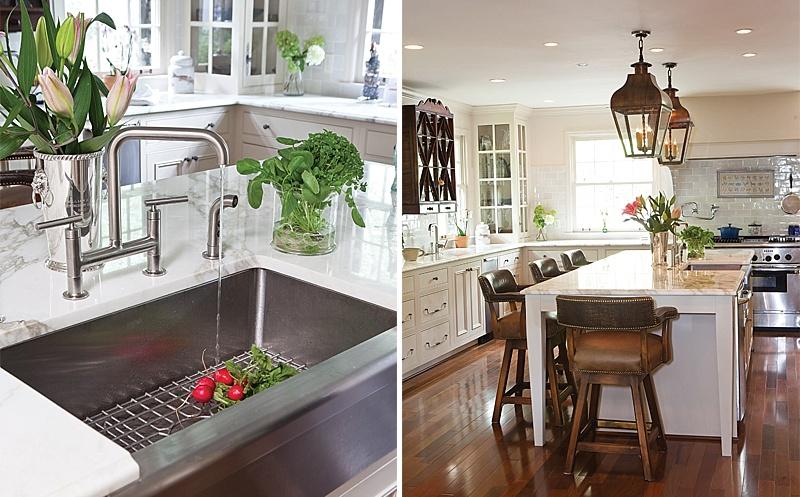 Elegant Antique Furnished Kitchen