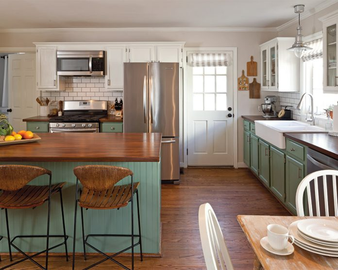 Kitchen Design on a Budget - The Cottage Journal